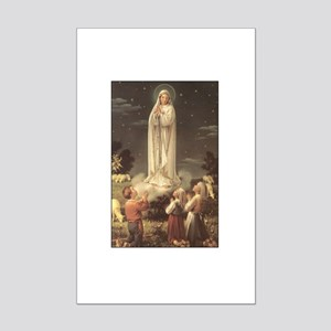 Our Lady of Fatima Mini Poster Print
