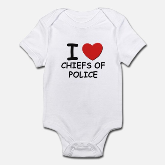 I love chiefs of police Infant Bodysuit