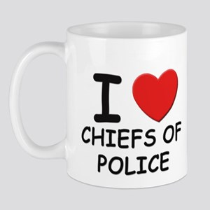 I love chiefs of police Mug