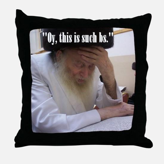 Oy Throw Pillow