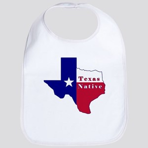 Texas Native Flag Map Bib