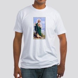 Saint Jude Fitted T-Shirt