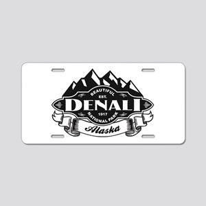Denali Mountain Emblem Aluminum License Plate