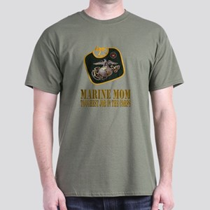 Marine Mom Military Green T-Shirt