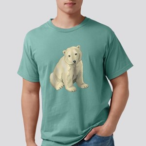 Cute White Polar Bear Mens Comfort Colors Shirt