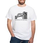 Growing Up Astoria Hellgate T-Shirt (white)