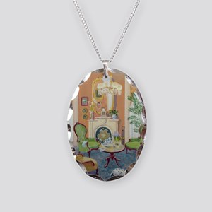 - Necklace Oval Charm