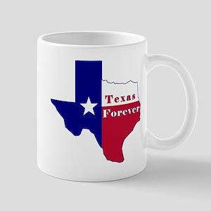 Texas Forever Flag Map Mug