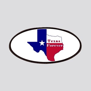 Texas Forever Flag Map Patches