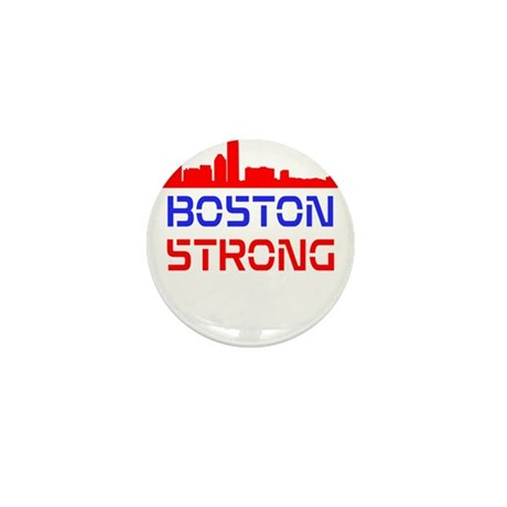 Boston Strong Skyline Red White and Blue Mini Butt