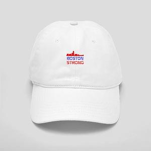 Boston Strong Skyline Red White and Blue Baseball