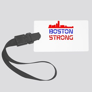 Boston Strong Skyline Red White and Blue Luggage T