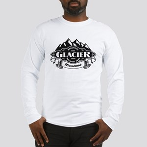 Glacier Mountain Emblem Long Sleeve T-Shirt