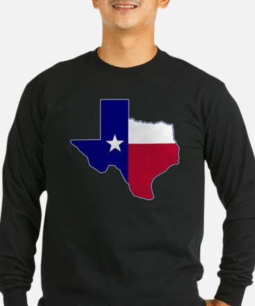 Texas Flag Map T