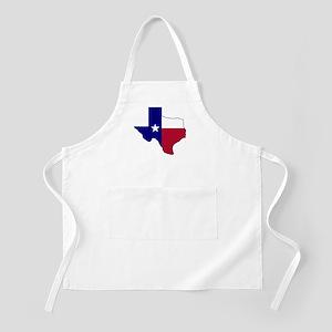 Texas Flag Map Apron