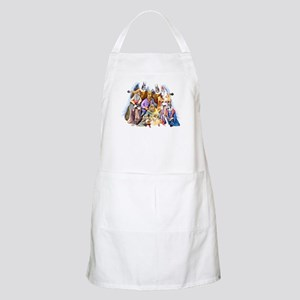 Great Dane Nativity BBQ Apron