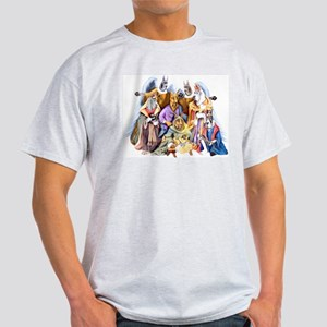 Great Dane Nativity Light T-Shirt