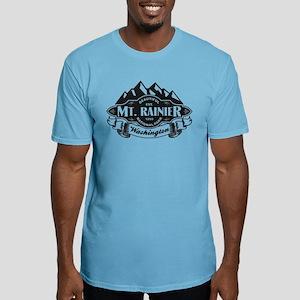 Mt. Rainier Mountain Emblem Fitted T-Shirt