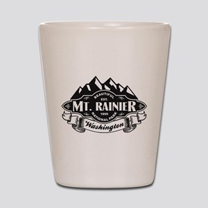 Mt. Rainier Mountain Emblem Shot Glass