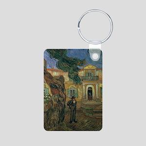 emy, 1889 @oil on canvasA - Aluminum Photo Keychai