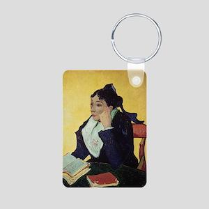 uxA 1888 @oil on canvasA - Aluminum Photo Keychain