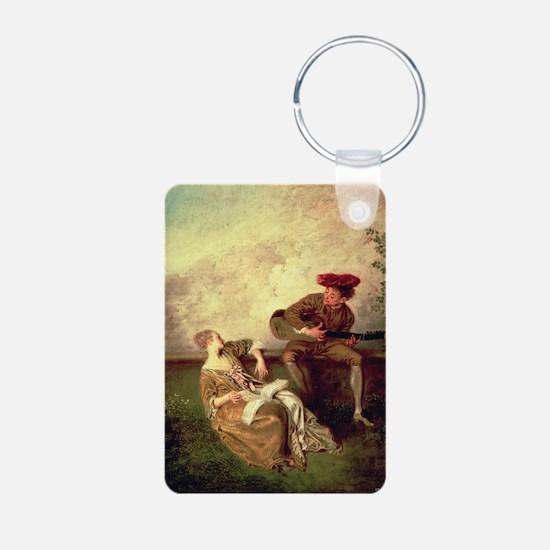 on canvasA - Keychains