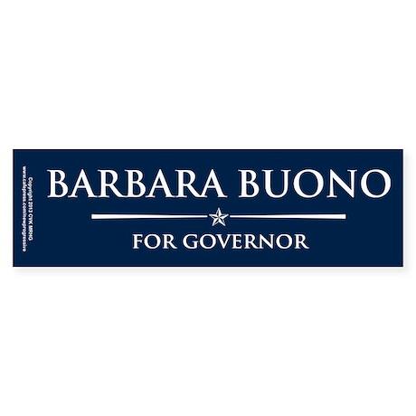 Vote Barbara Buono Sticker (Bumper)