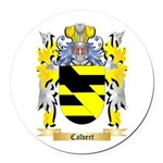 Calvert Round Car Magnet