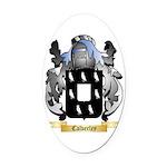 Calverley Oval Car Magnet