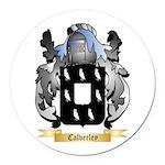 Calverley Round Car Magnet