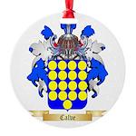 Calve Round Ornament