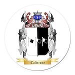 Calterone Round Car Magnet