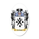 Callway Oval Car Magnet