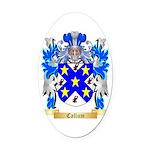 Callum Oval Car Magnet