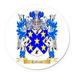 Callum Round Car Magnet