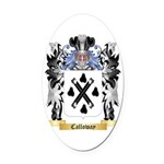 Calloway Oval Car Magnet