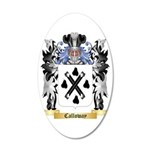 Calloway 35x21 Oval Wall Decal