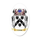 Callow Oval Car Magnet