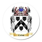 Callow Round Car Magnet