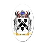 Callow 20x12 Oval Wall Decal