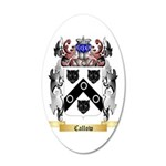 Callow 35x21 Oval Wall Decal