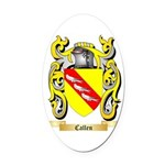 Callen Oval Car Magnet