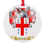 Callejo Round Ornament