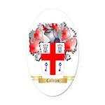 Callejas Oval Car Magnet