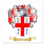 Callejas Square Car Magnet 3