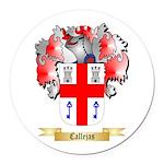 Callejas Round Car Magnet
