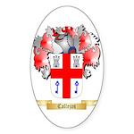 Callejas Sticker (Oval)