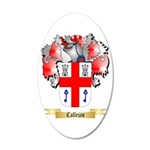 Callejas 20x12 Oval Wall Decal