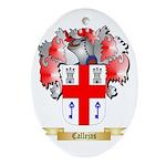 Callejas Ornament (Oval)