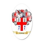 Calleja Oval Car Magnet